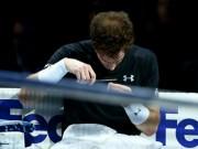 Thể thao - Đánh tệ trước Nadal, Murray cắt tóc ngay trên sân
