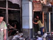 Tin tức trong ngày - TPHCM: Cháy chợ rạng sáng, nhiều gian hàng bị thiêu rụi