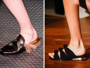 Thời trang - 4 xu hướng thời trang dép lê mùa này