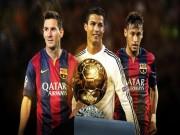 """Bóng đá - Trước El Clasico: CR7, Neymar """"hết cửa"""" giành QBV"""