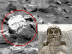 Phi thường - kỳ quặc - Phát hiện đá hình mặt người trên sao Hỏa