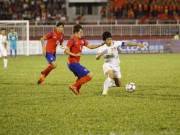 """Bóng đá - Công Phượng """"vùng vẫy"""" trước hàng thủ U19 Hàn Quốc"""