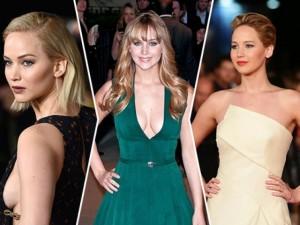 """Hành trình mặc  """" đẹp dần đều """"  của Jennifer Lawrence"""