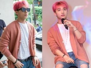 """Ca nhạc - MTV - Sơn Tùng """"chất lừ"""" với mái tóc hồng cá tính"""