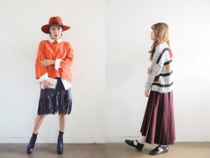 Áo len + chân váy = Công thức hoàn hảo ngày chớm đông
