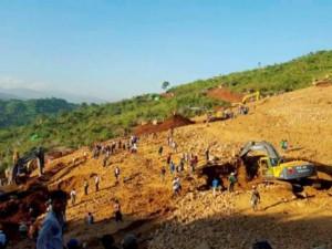 90 người chết vì lở đất kinh hoàng ở mỏ ngọc bích Myanmar