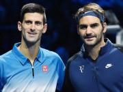 Tennis - Djokovic - Federer: Cái kết hoàn hảo (CK ATP Finals)