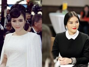 """Mỹ nhân Việt khác biệt khi để tóc  """" bổ luống """""""