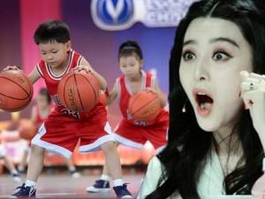 Màn đồng diễn bóng rổ khiến Phạm Băng Băng kinh ngạc