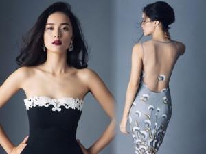 Váy - Đầm - Hạ Vi khoe eo thon, vai trần vô cùng quyến rũ