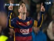 Bóng đá - Siêu phẩm kiểu Barca: 4 giây 4 chạm để Messi ghi bàn