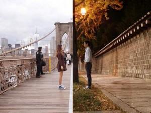 Bạn trẻ - Cuộc sống - Ngưỡng mộ sự lãng mạn của cặp đôi cách nhau 11.000km