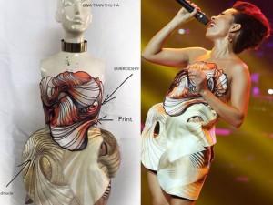 Diva Hà Trần và bí mật về những chiếc váy  độc, quái