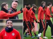 Bóng đá - Rooney, Martial tái xuất, MU ngập tiếng cười