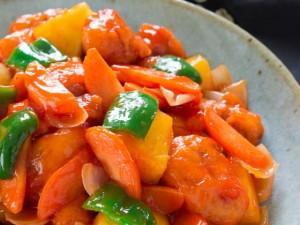 Ẩm thực - Thịt lợn xào chua ngọt - món ngon cho cả nhà