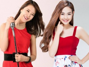 Đời sống Showbiz - Minh Hằng đứng chung sân khấu với nữ hoàng nhạc phim Hàn