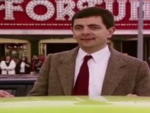 Mr Bean giải cứu đứa bé bị mắc kẹt vào bóng bay
