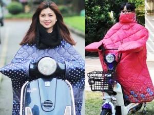 Hà Nội: Xôn xao vì áo khoác kỳ dị to như chăn bông