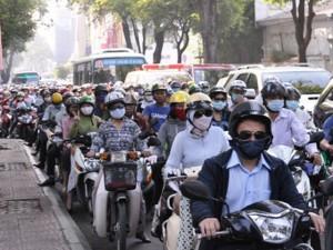 Tin tức trong ngày - Kẹt cứng ở trung tâm Sài Gòn vì... diễn tập PCCC