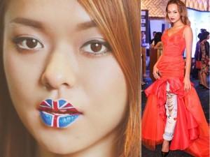 Thời trang - Gu mặc lạ của mẫu nữ phối váy điệu với quần jeans