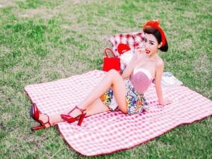 Bạn trẻ - Cuộc sống - Hot girl trường ngoại ngữ khoe vẻ đẹp cổ điển hút hồn
