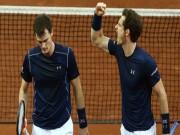 Thể thao - Anh em Murray giúp tuyển Anh ở gần vinh quang Davis Cup