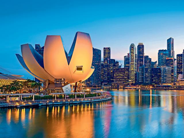 Thay đổi thần kỳ của đảo quốc Singapore qua 15 bức ảnh