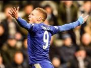 Bóng đá Ngoại hạng Anh - Vardy lập kỷ lục mới NHA, được so với Messi