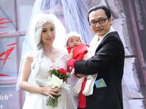 Lê Kiều Như khoe con gái trong đám cưới cổ tích