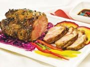 Ẩm thực - Thịt heo nướng vừa thơm vừa mềm ăn là mê