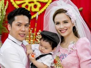 Giải trí - Nước mắt Diễm Hương trong đám cưới nhiều điều đặc biệt
