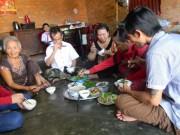 An ninh Xã hội - Ba bữa cơm ngon nhất của gia đình ông Nén