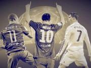 Bóng đá - QBV 2015: Ronaldo, Neymar đua với Messi... cho vui