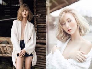 """Bạn trẻ - Cuộc sống - Quỳnh Anh Shyn táo bạo diện mốt """"quên"""" nội y"""