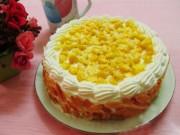 Ẩm thực - Cách làm bánh kem bắp ngon không thể chối từ