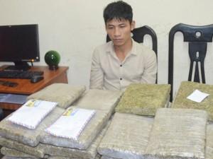 An ninh Xã hội - Bị tóm gọn khi đưa 30 bánh cần sa ra Hà Nội tiêu thụ