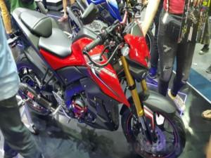 Ô tô - Xe máy - Tận mắt Yamaha M-Slaz mới trình làng