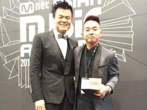MAMA 2015: Phúc Bồ nhận giải Best Producer