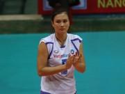 Thể thao - Hoa khôi bóng chuyền Kim Huệ chia tay tiếc nuối