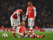 Bóng đá - Bão chấn thương càn quét, Arsenal khó vượt vũ môn