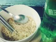 Sức khỏe đời sống - Bụng phình to như đài phun nước vì vừa ăn mỳ tôm vừa uống nước có ga