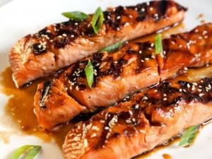 Ẩm thực - Cá hồi nướng cam nóng hổi đưa cơm ngày lạnh