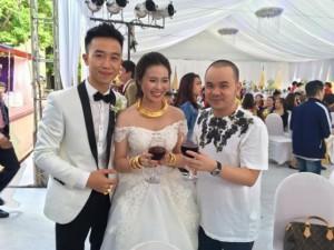 Bạn trẻ - Cuộc sống - Đám cưới xa hoa của con trai gia đình có căn nhà 300 tỷ