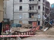 Video An ninh - Rơi thang máy xây dựng ở Hà Nội, 3 người thương vong