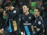 Bóng đá Ngoại hạng Anh - Cặp tấn công lợi hại nhất NHA: Gọi tên Ozil – Giroud