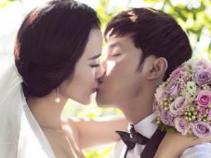 Ảnh cưới ngập tràn nụ hôn của vợ chồng Ưng Hoàng Phúc