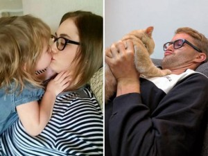 Bạn trẻ - Cuộc sống - Chụp ảnh với mèo để làm quà sinh nhật tặng em gái