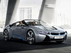 Ô tô - Xe máy - Ngắm BMW i8 Spyder vừa được 'bật đèn xanh' đi vào sản xuất