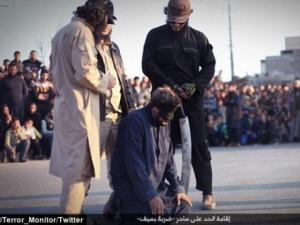 """Thế giới - IS chặt đầu một người bị coi là """"phù thủy"""""""