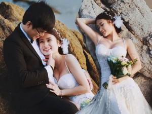 Bạn trẻ - Cuộc sống - Đẹp mê mẩn bộ ảnh cưới giữa hòn đảo Minh Châu